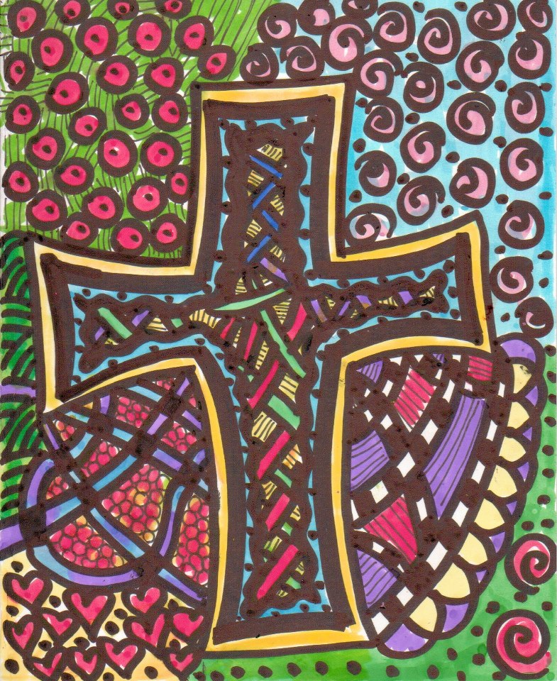 Hope Woven in The Cross